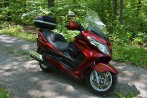 2008 Burgman 400   Only 6259 miles -Many Options