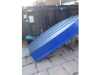 Fibreglass dinghy