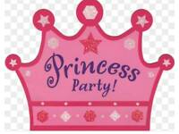 Wedding Prom hair, Princess pamper parties