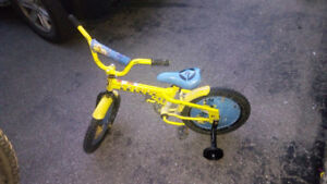 Minion kids bike used and little weary but still good.