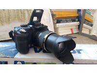 Fujifilm FinePix S9600 9.0 MP Digital Camera, new tripod, charger and case