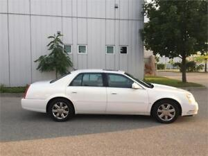 2006 CADILLAC DTS WHITE ON TAN 157KM LEATHER SUNROOF