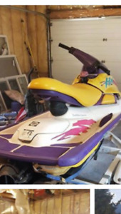 98 seadoo hx on trailer