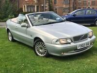 VOLVO C70 TURBO CONVERTIBLE SUMMER BARGAIN