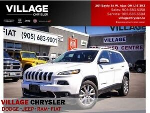 2016 Jeep Cherokee Limited, Nav,Leather,Remote, Heated Seats...