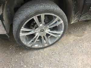 24 inch wheels 99-2017 chev gmc 6 bolt