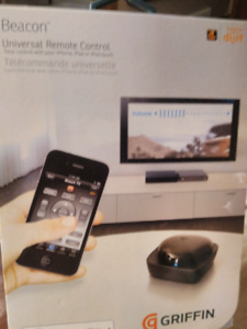 Griffin Beacon universal IR remote control for apple devices