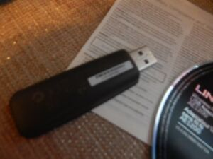 Linksys N Wireless USB Adapter, Near New