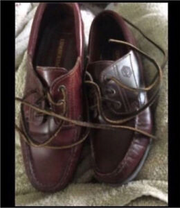 Beautiful leather boat shoes