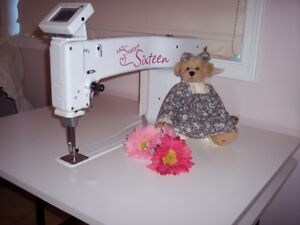 Sweet 16  (Sit down) Quilting Machine.  Reduced again!
