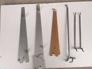 Assorted Shelving Brackets and Hooks