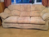 FREE TO COLLECTOR Severn Beach Sofa chair and footstool good condition