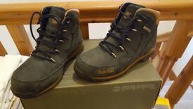 Timberland Boots, navy, size 6