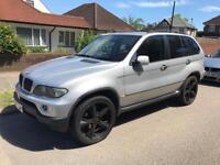 2006 / 06 BMW X5 3.0L DIESEL AUTO LOW MILEAGE LEATHER HPI CLEAR M SPORT SEATS FSH
