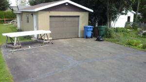 porte en bois isolée de garage