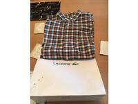 Lacoste long sleeve shirt size 2xl