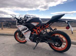 2015 KTM RC390 with ABS