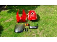 G reg. VFR 750 (F ) spare parts.