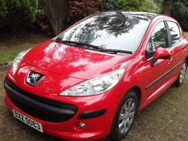 2009 Peugeot 207 1.4 Hdi - 1 Year Mot and Only £30 Road Tax