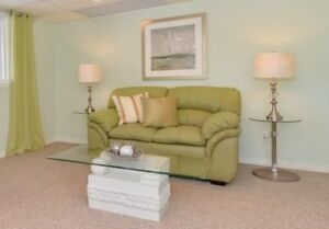 Mint Green Loveseat/Couch