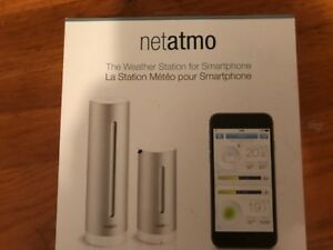 Netatmo Weather Station for Smartphone (NEVER OPENED)