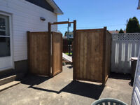 Installation et réparation de clôtures en tous genre