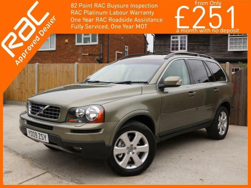2009 Volvo XC90 2.4 D5 Turbo Diesel 185 BHP SE Geartronic 6 Speed Auto AWD 4x4 4