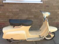 1966 Lambretta J125, Bodywork in good condition Mot & Taxed April 2018