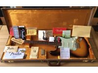 Fender 2013 American Vintage '59 Stratocaster with case. Excellent original with all case candy