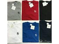 Men's Crew Neck T-shirts The North Face / Stone Island / Ralph Lauren / Gym King