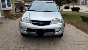 2003 Acura MDX with Winter Tires