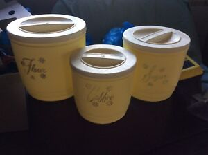Retro kitchen canister for sale