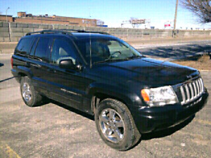 Jeep Grand Cherokee Limited 2004 de couleur noir