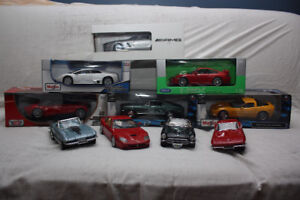 Die Cast Collection - 10x 1:18 Scale models