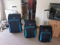 Matching suitcase set