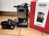 Gaggia Classic Espresso Machine RI9403 (new 2015 EU model) with accessories