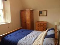 MON-FRI or SHORT TERM spacious double bedroom on the edge of the Downs.