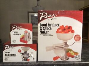 New, never used Roma Food Strainer and Sauce Maker