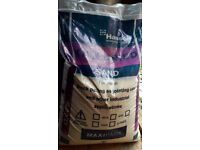 New bag of 25kg Kiln Dried Sand
