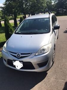 2009 Mazda5 GS 5 Speed Manual w/ Roof Rack