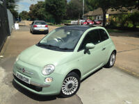 FIAT 500 LOUNGE . FULL 1 YEAR MOT. GLASS ROOF. EXCELLENT DRIVE. BARGAIN