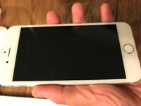 iphone 6 unlocked 16G white/silver, good condition £160