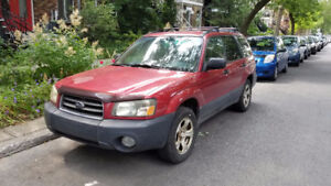 2003 Subaru Forester Manual, Manuelle