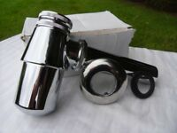 Chrome Basin Bottle Trap with 190mm Extension Tube