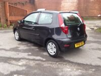 55 REG FIAT PUNTO 1.2 BLACK LONG MOT ONLY 74000 MLS