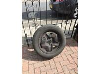 Vauxhall insignia spare wheel and tyre