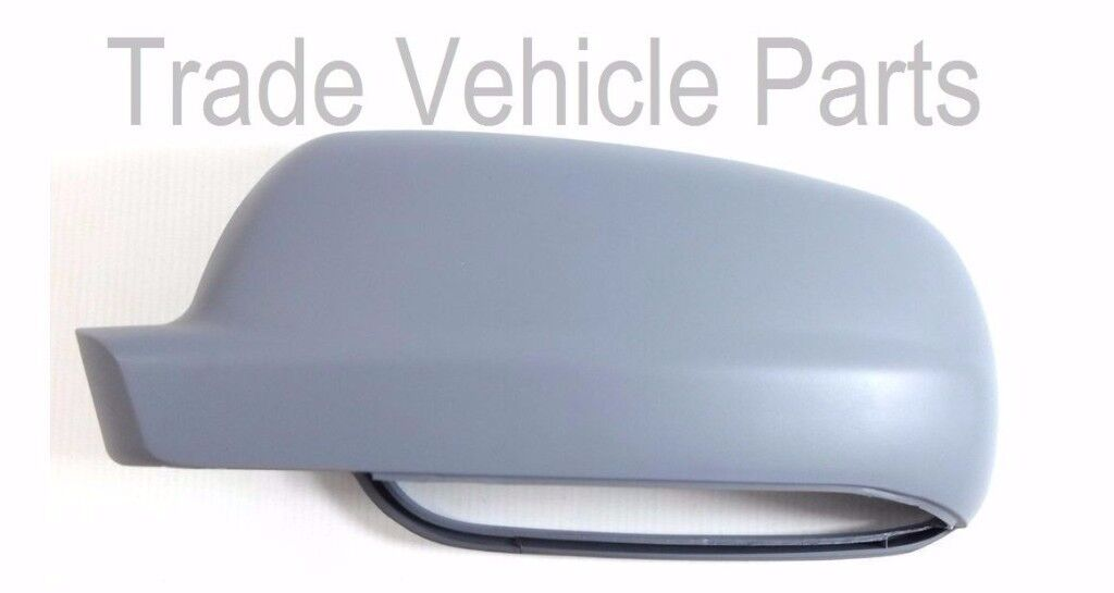 VW BORA 1999-2006 DOOR WING MIRROR COVER PRIMED PASSENGER SIDE NEW HIGH QUALITY FREE DELIVERY