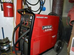 Lincoln 256 wire feed welder