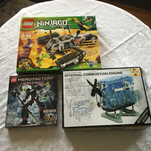 LEGO and ENGINE BUILD