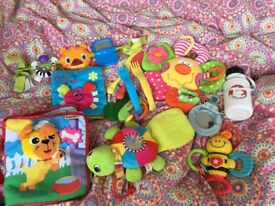 baby toys new and used in good condition